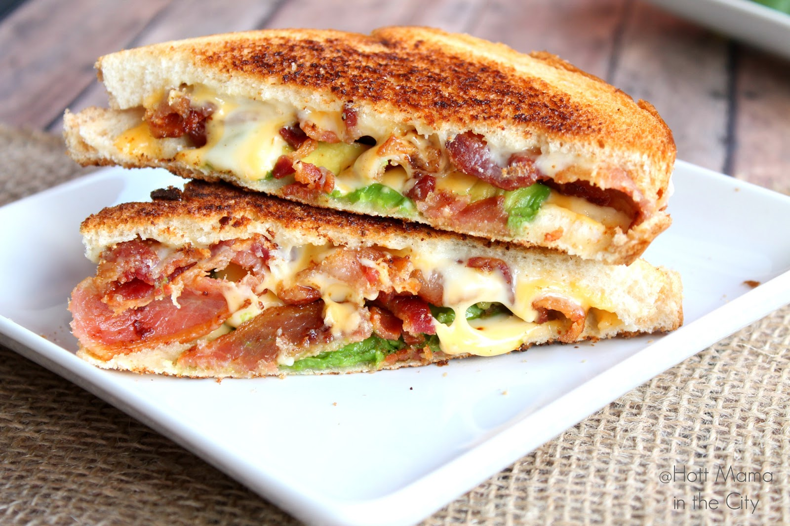 Hot Mama In The City: Bacon Avocado Grill Cheese Recipe