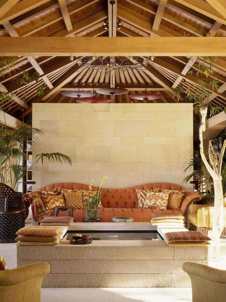 Stone House Living Room