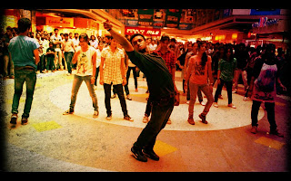 Flashmob kochi Obron Mall