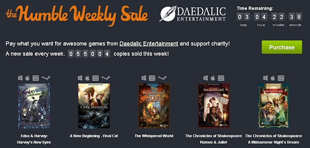 Nuevo Humble de Daedalic Entertainment