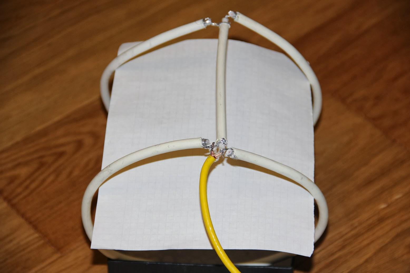 схема подсоединения антенны locus