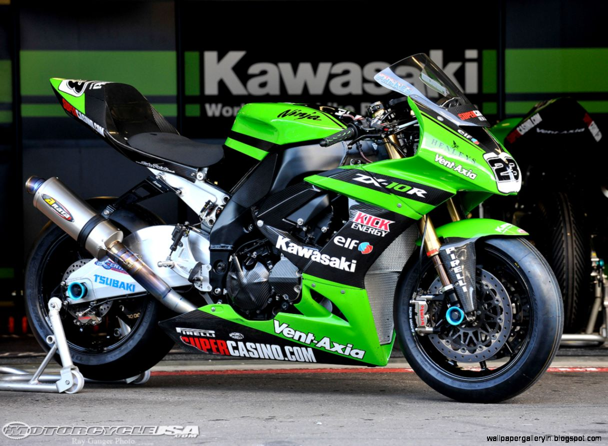 Paul Bird Kawasaki ZX10R World Superbike Photos   Motorcycle USA