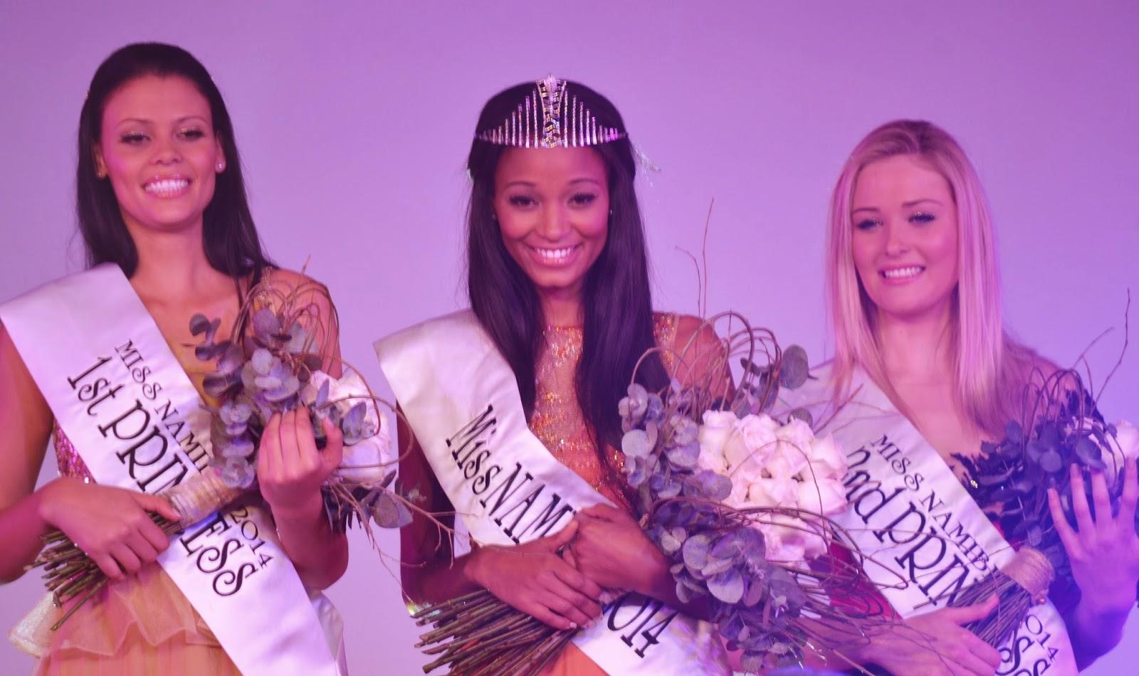 Miss Namibia 2014 winner Brumhilda Ochs