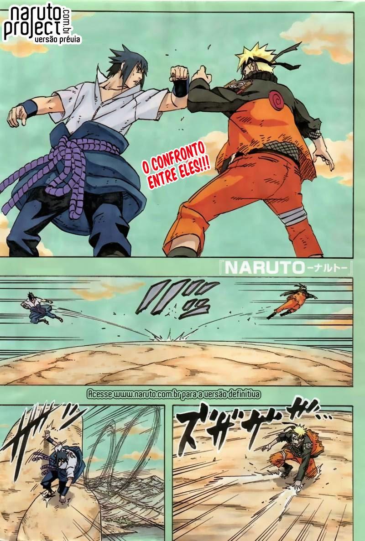 Naruto 695 Português Mangá leitura online