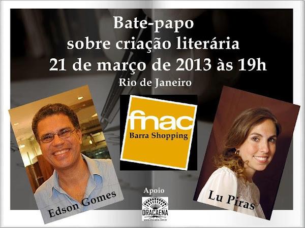 Bate-papo com Lu Piras e Edson Gomes no Rio de Janeiro