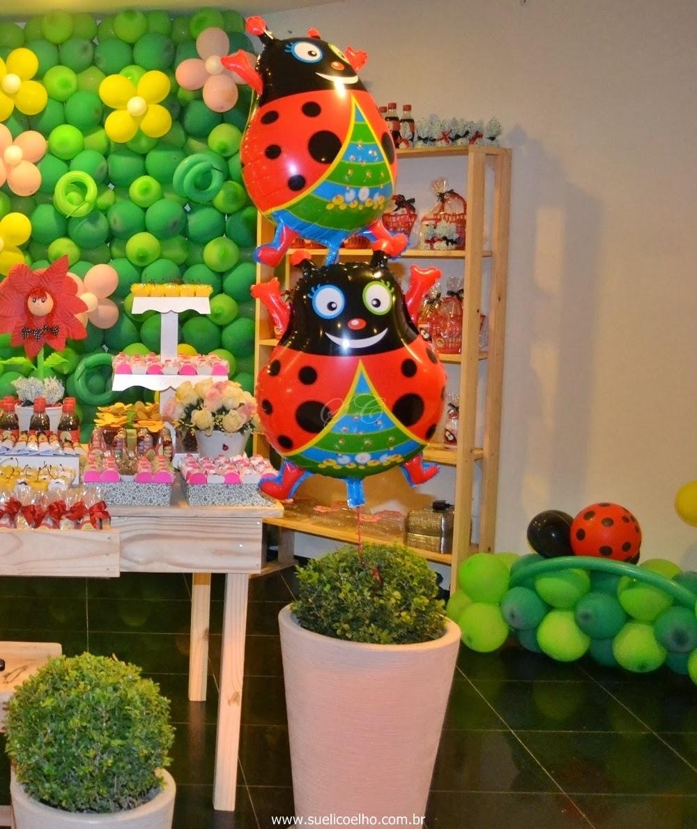 decoracao de festa infantil jardim das joaninhas:Ambientes e Eventos: Festa Infantil – Joaninhas no Jardim da Lívia
