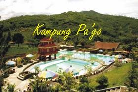Kampung Pa'go Ciwidey, Resort asri di Bandung