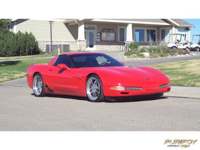 2002 Chevrolet Corvette at Purifoy Chevrolet