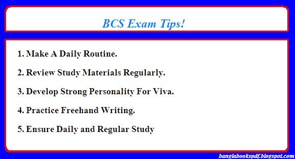 BCS exam tips