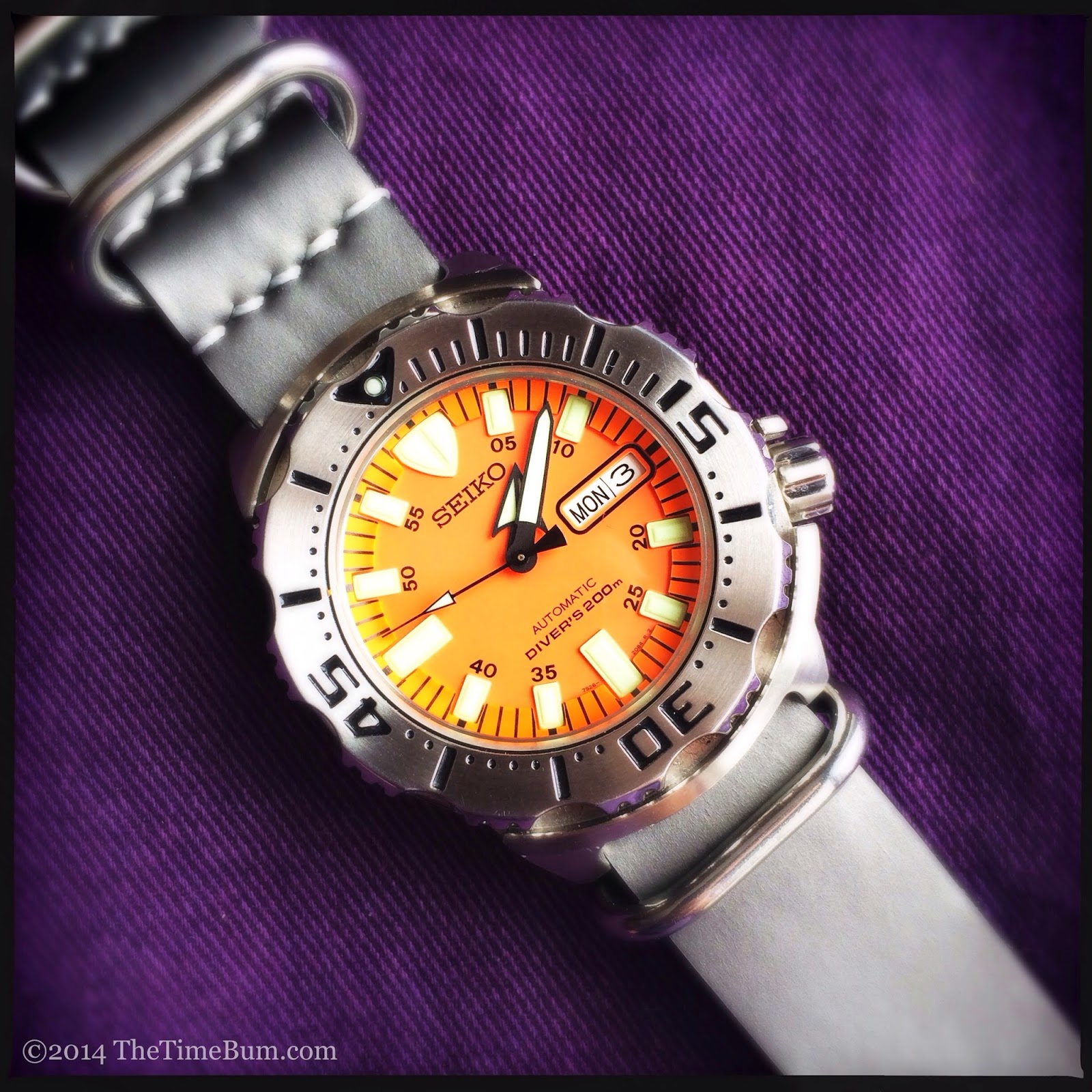 Seiko SKX781 Orange Monster
