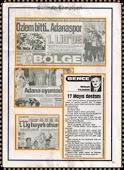 Gazetelere şampiyonluğun yansıyışı 1997 1998