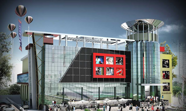 3d Architectural Rendering Of Multiplex,3d animation