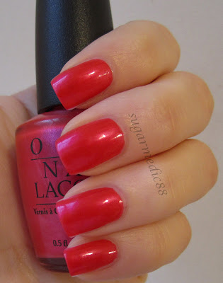 OPI All Rose Lead to Rome Swatch