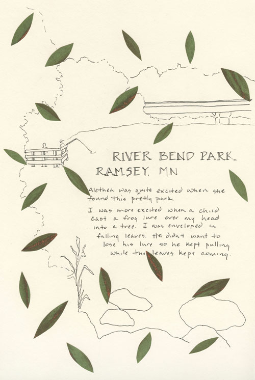 River Bend Park Drawing
