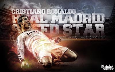 C.Ronaldo - Real Madrid Wallpapers Sepakbola Terbaru 2012-2013 (Edisi 7 Tgl 5 Oktober 2012)