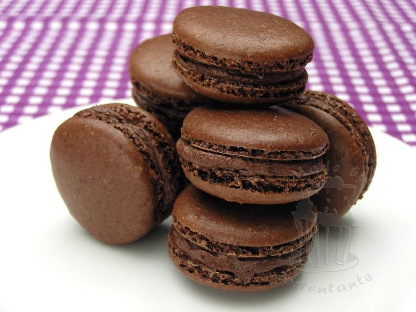 Macarons Aldi Backmischung Schokolade