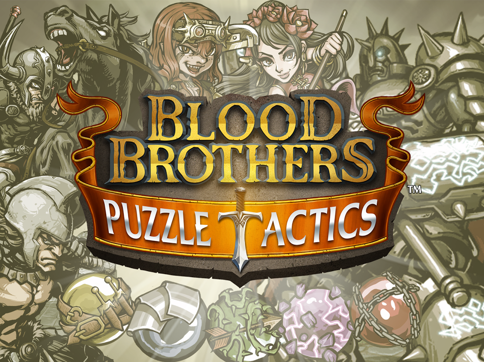 Blood Brothers: Puzzle Tactics Gameplay IOS / Android