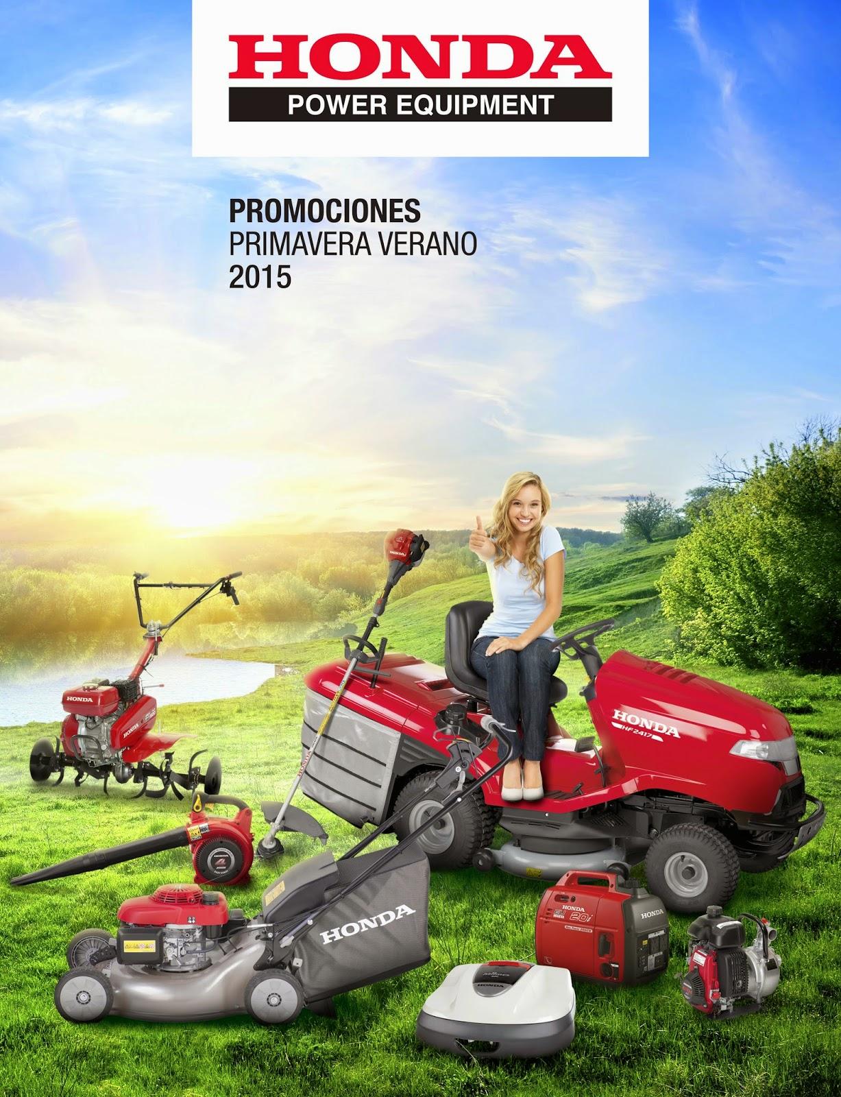Hondaencasa blog promociones primavera verano honda for Honda jardin 2015