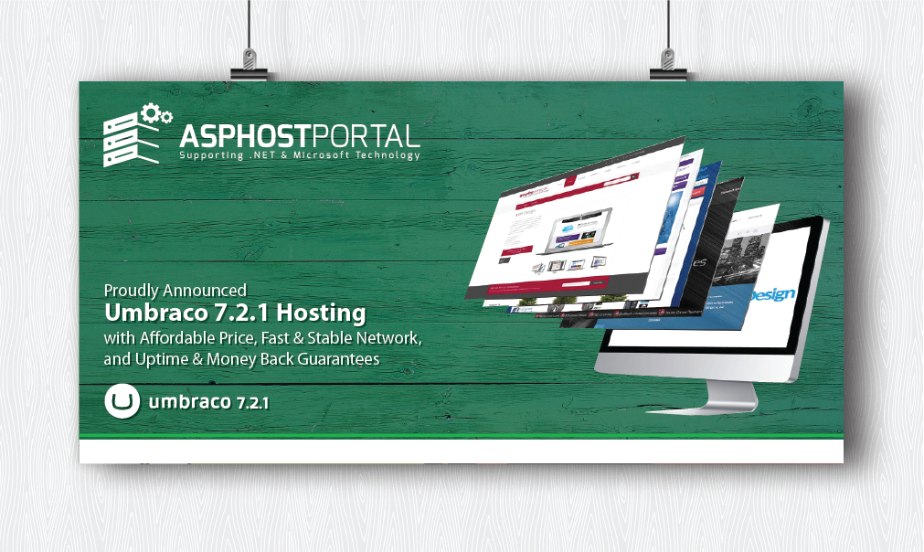 Best ASP.NET Hosting :: ASPHostPortal.com Proudly Announces Umbraco 7.2.1 Hosting