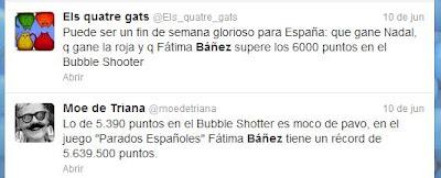 Opiniones sobre Báñez y Bubble Shooter