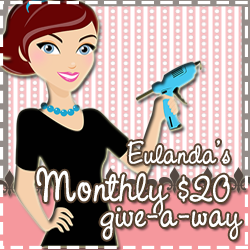 Eulanda's Monthly Giveaway
