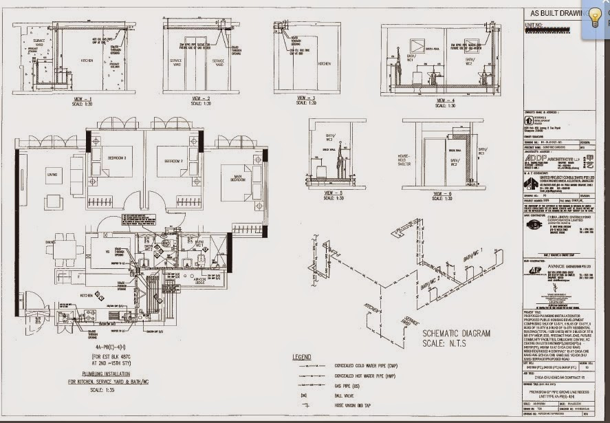 home maintenance and upgrade singapre and johor bahru  hdb 4 room floor plan
