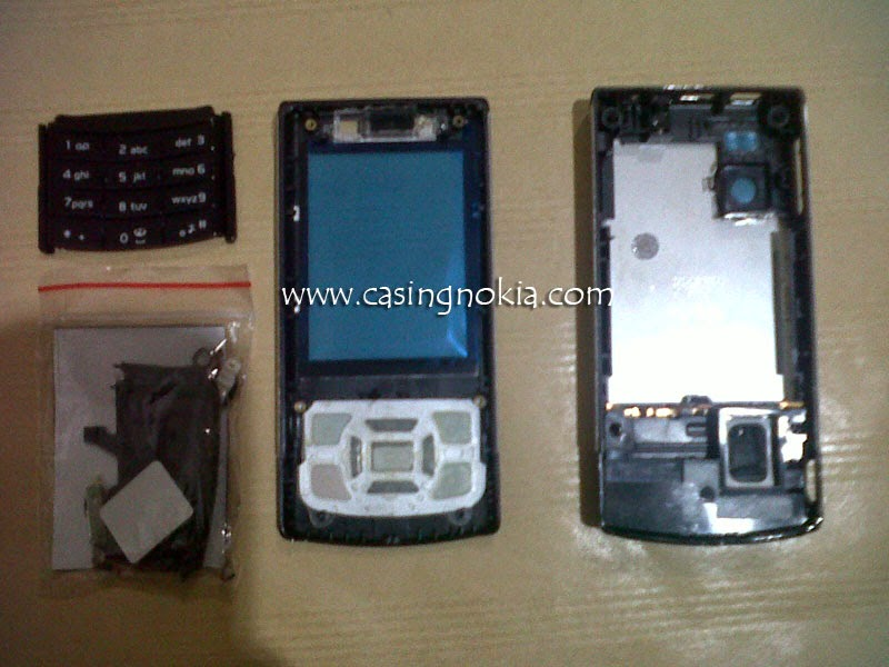 Casing Nokia 6500 Slide Fullset
