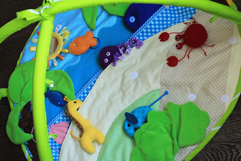 Сшить коврик для ребенка от 0 до 3 33