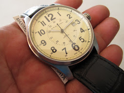 SOLD HAMILTON MILITARY CREAM DIAL - AUTOMATIC