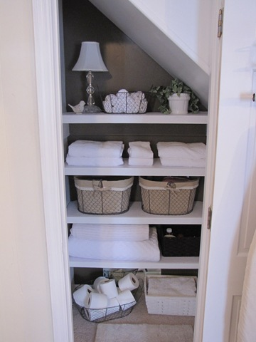 While you are organizing your linen closets or storage space for Julyu0027s Monthly Challenge you may be considering using some type of baskets or containers ... & O is for Organize.: Linen Closet Storage Ideas