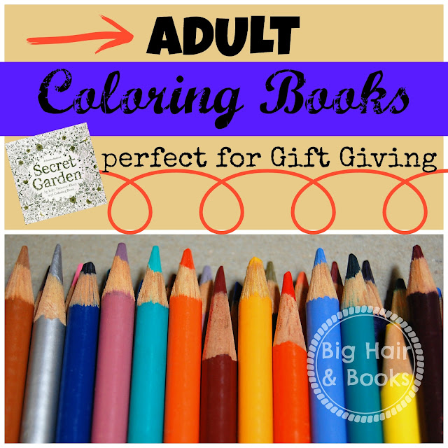 Adult coloring books perfect for gift giving #coloring #tween #art #relaxation