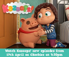 Brand New Kazoops on Cbeebies