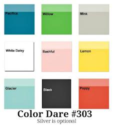 Color Dare #303 Closes Thur Aug 9th