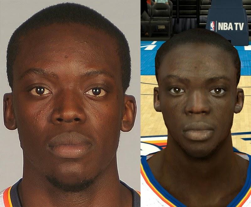 NBA 2K14 Realistic Reggie Jackson Face Mod