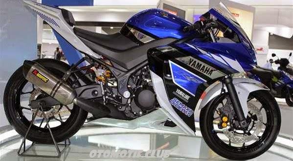 Yamaha R25 biru