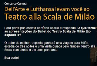 """CONCURSO CULTURAL """"Dell'Arte e Lufthansa"""