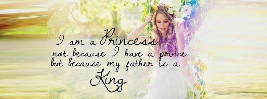 Une magnifique couverture facebook je suis une princesse