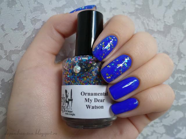 Girly bits Ornamental My Dear Watson & Nails inc. Baker street