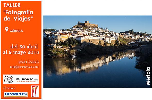 """Taller """"Fotografia de Viajes"""" Mértola"""