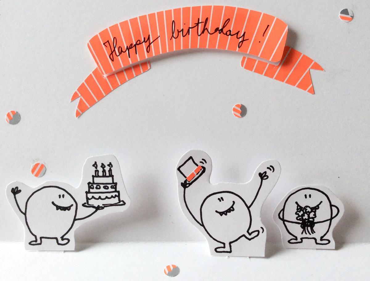 Geschwister gezwitscher juni 2014 - Geburtstagskarte basteln pop up ...