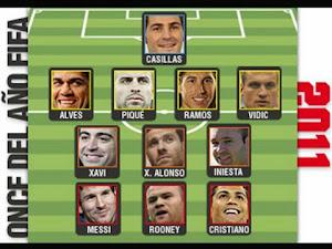 ONCE IDEAL DE LA FIFA 2011