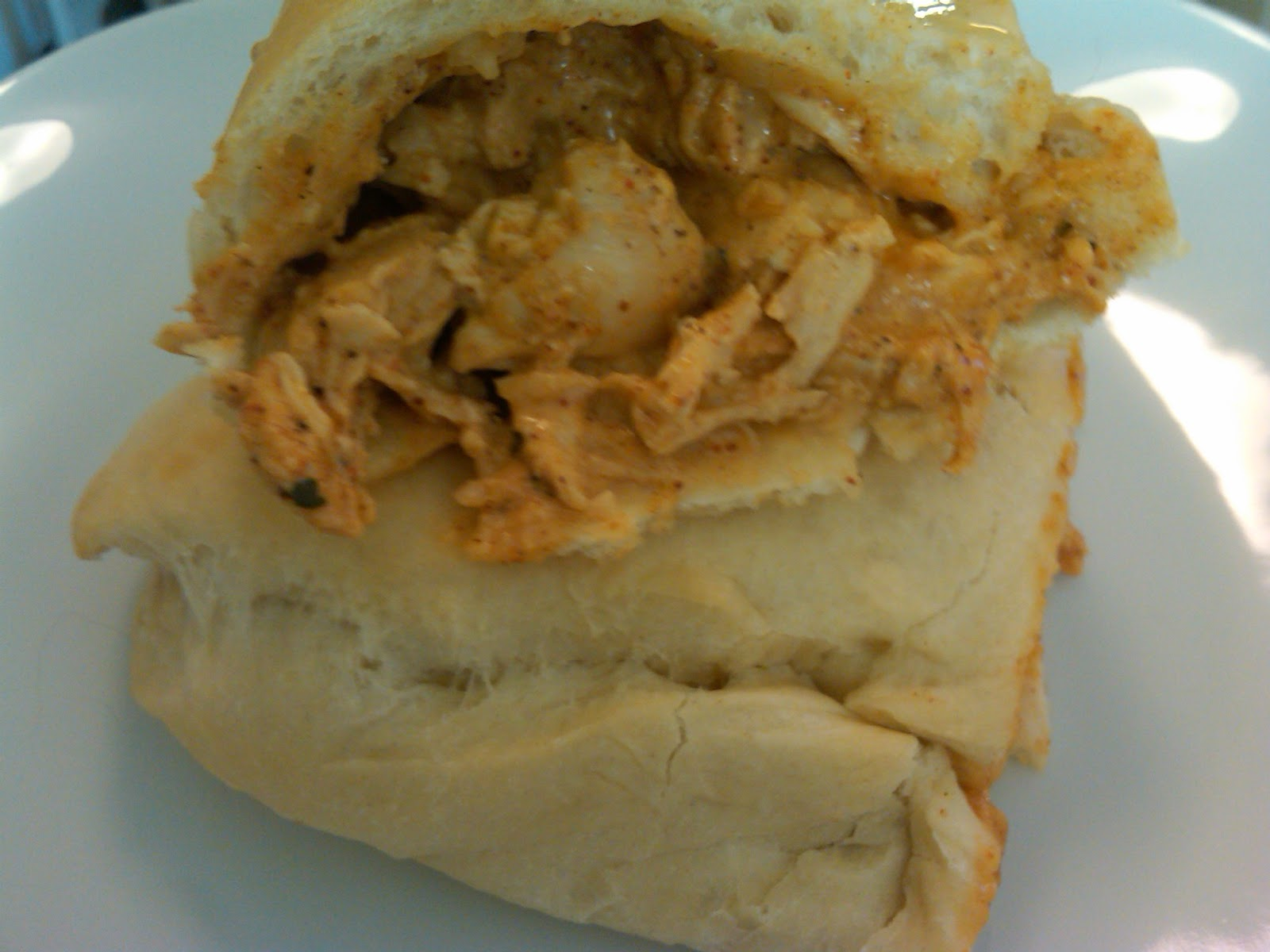 Michele's Woman Cave: Creamy Chicken Taco Calzones
