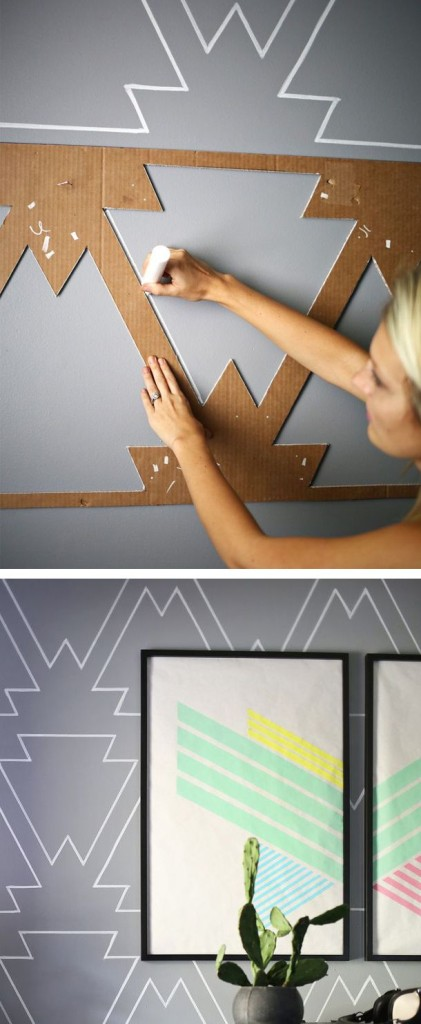 Home Decor 20 Amazing Temporary Diy Wall Treatment Ideas For Renters