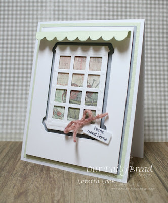 Our Daily Bread Designs Stamp Sets: Home Sweet Home, Our Daily Bread Designs Custom Dies: Welcoming Window, Mini Tags, Window Shutter and Awning Dies, Our Daily Bread Designs Soulful Stitches Paper Collection