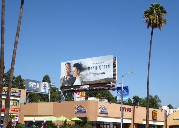 Manhattan season 2 billboard
