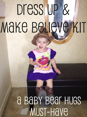 dress up and make believe kit DIY