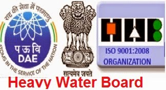 HWB Heavy Water Board Recruitment 2015 Scientist Officer, Nurse, Steno, UDC, Driver – 46 Posts
