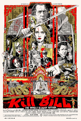 Kill Bill Screen Print by Tyler Stout