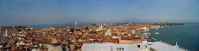 Pemandangan kota venesia