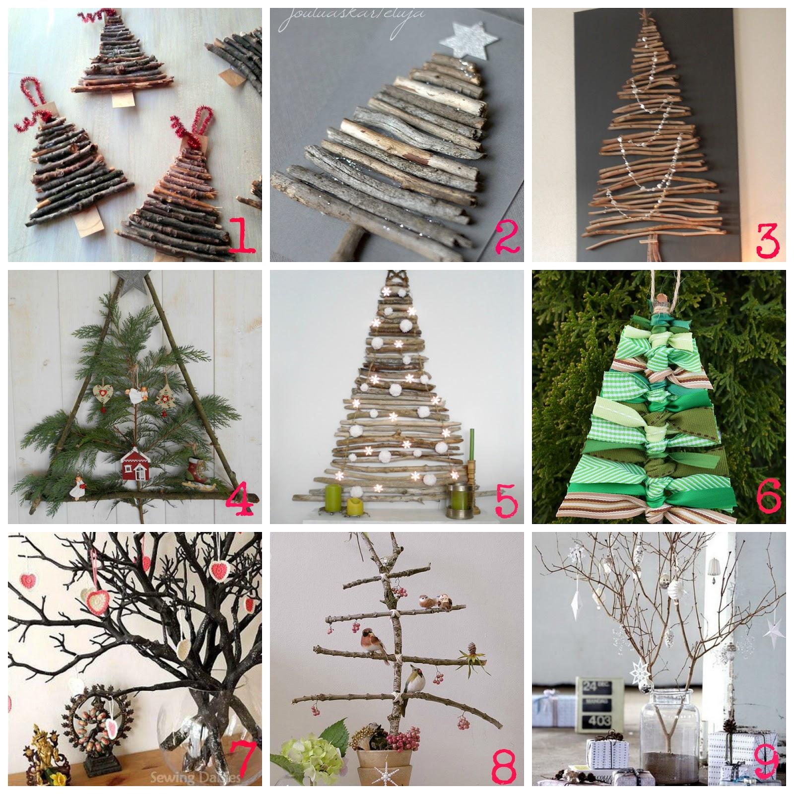 Decorazioni di natale fai da te con i rami secchi donneinpink magazine - Decorazioni natalizie finestre ...
